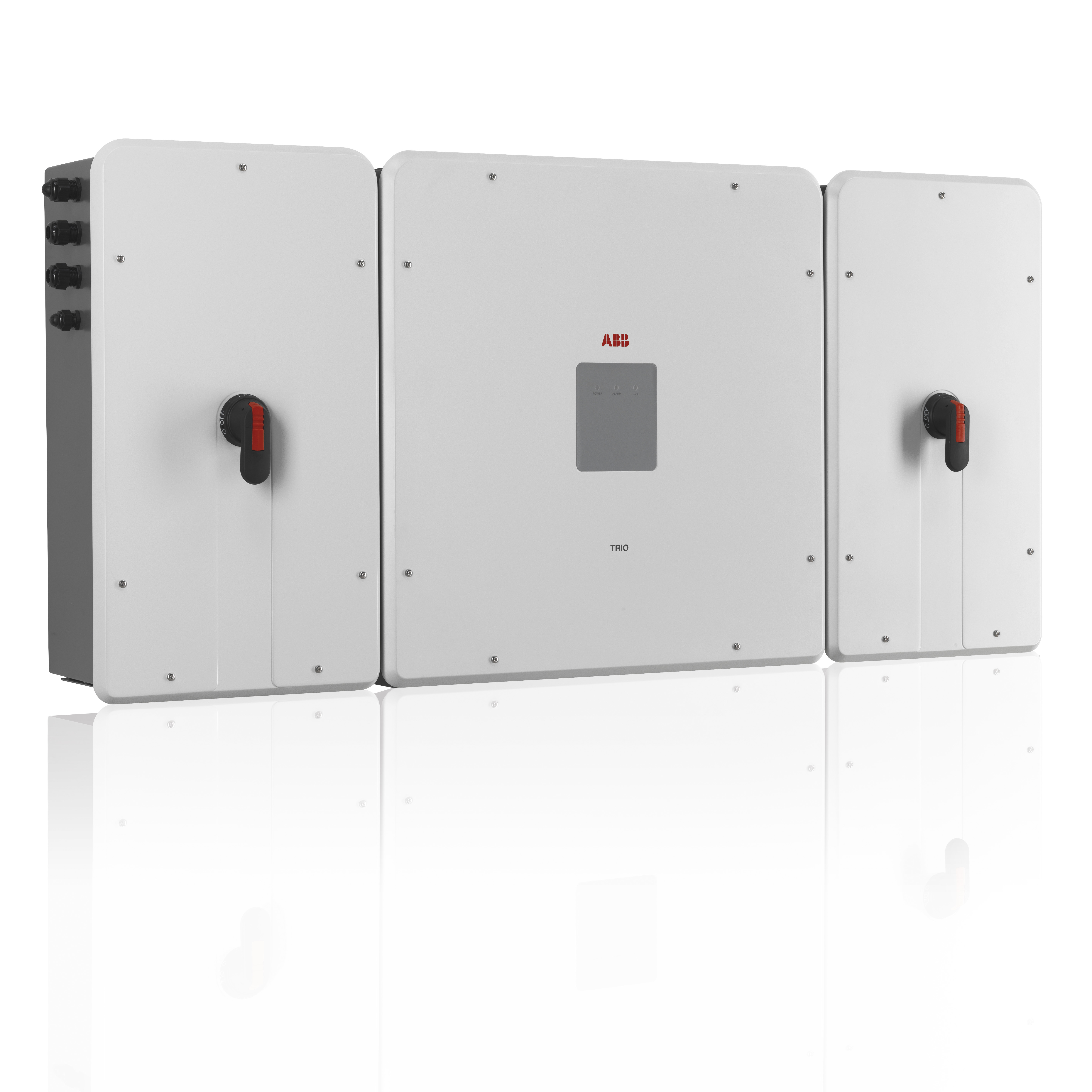 Abb Trio 50 0kw Grid Tie Inverter Three Phase With Dc