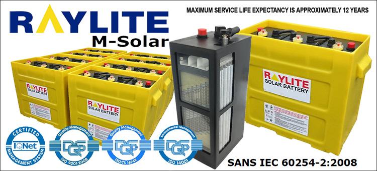 Millenium Solar 3xmil25s 900ah Monobloc Sonop Solar
