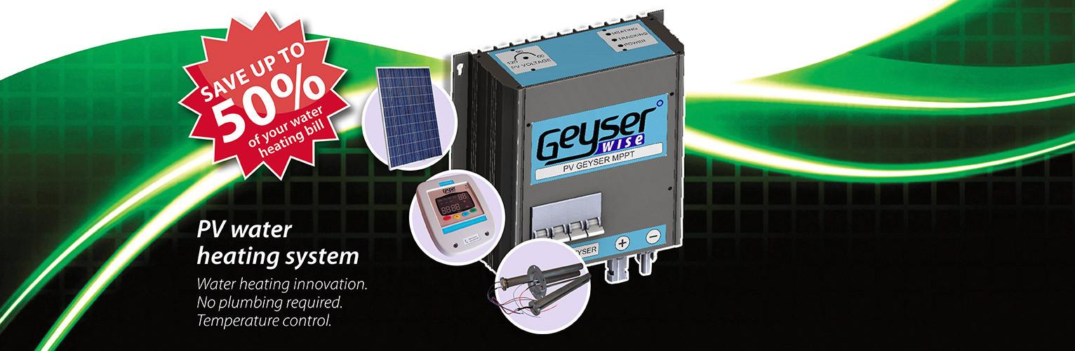 Geyserwise 200l Pv Water Heating System Sonop Solar
