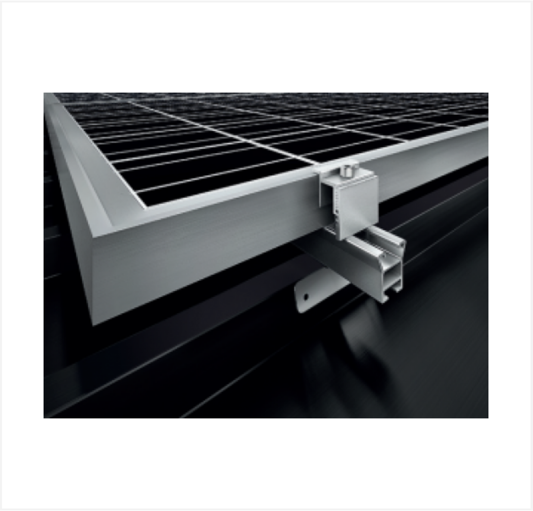 Lizard Ibr Roof Structure For 4 Pv Modules Sonop Solar